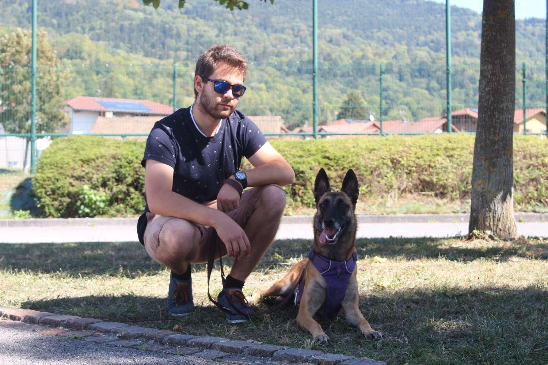 éducateur canin méthode positive chien dresseur éducation